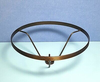 Vintage Brass Plated Lamp Shade Ring