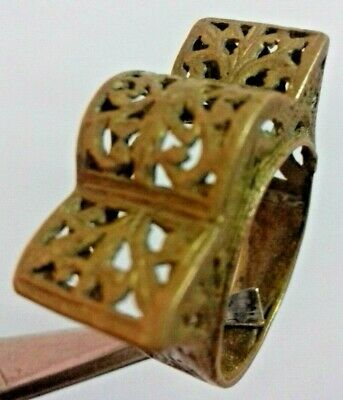 Ancient Rare Roman RING Bronze Legionary Old Extremely Artifact