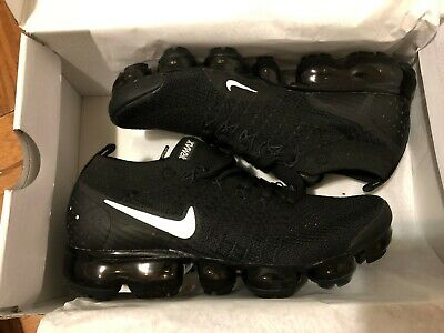 100% AUTNENTIC Nike Air Vapormax Flyknit 2018 Women Running Athletic shoes BLACK