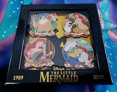 Disney Ariel & Friends Little Mermaid 30th Anniversary Pin Set LE 2000
