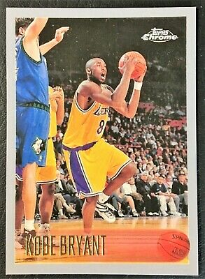 1996-97 Topps Chrome #138 Kobe Bryant Rookie Reprint - Los Angeles Lakers - Mint