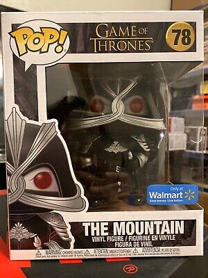 Funko Pop The Mountain #78 Game Of Thrones 6 Inch Walmart Exclusive Damaged