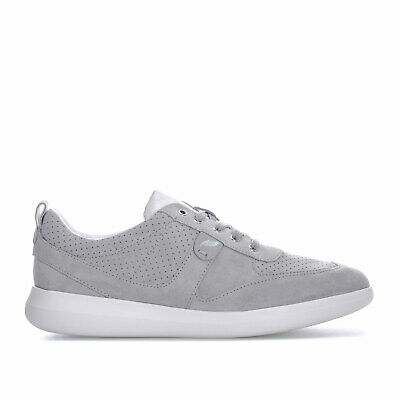 Womens Geox Gomesia Trainers In Light Grey