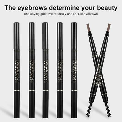 HANDAIYAN Double Heads Eyebrow Pencil Long Lasting Waterproof Eyebrow Pen JT