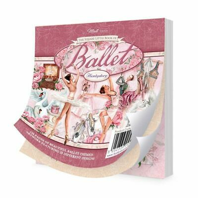 """Hunkydory The Square Little Book of Ballet  5""""x5"""", 150pg"""