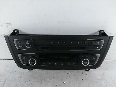 2015 BMW 3 SERIES Mk6 Heater Climate Controls 9354146 232