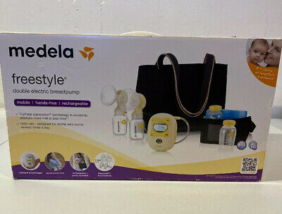 Medela Freestyle Deluxe Breastpump Set New Free Shipping 324 99 Picclick