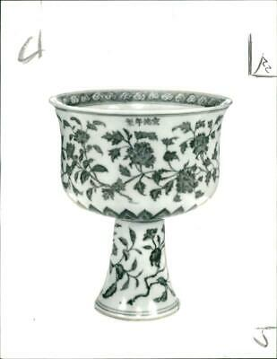 Vintage photograph of Ming:A blue and white porcelain