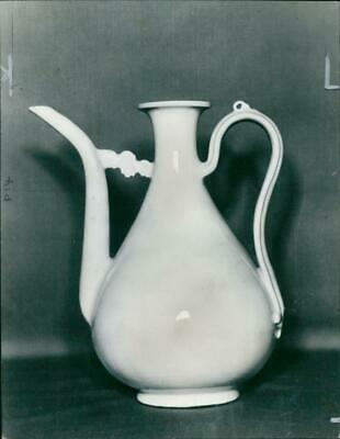 Vintage photograph of Ming:An early ming white porcelain