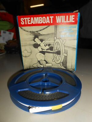 Film Il Primo Cartone Animato Completo Di Walt Disney Steamboat Willie 8 Mm B/N