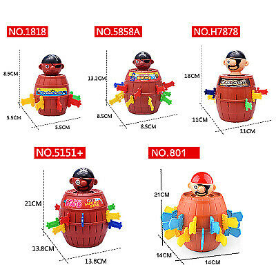 Pirate bucket game toy Tricky children's fun board games toys