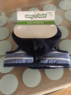 Wag a Tude  dog harness  30-36 With Hood Free Postage Extra Small