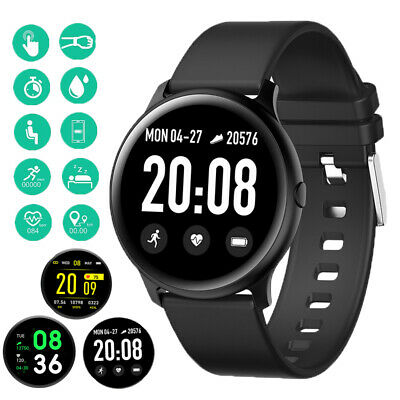 Smart Watch IP68 Heart Rate Pedometer Sport Band Bracelet for Samsung HUAWEI UK