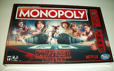 Monopoly Stranger Things Edition Board Game Made 2017 By Hasbro New/Sealed!