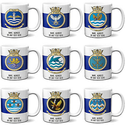 Personalised British Navy Mug Fleet Air Arms Cup Official Military FAA Dad Gift