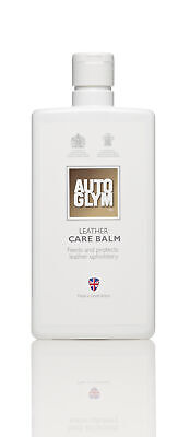 Autoglym LCB500 Car Detailing Cleaning Interior Leather Care Balm 500ml