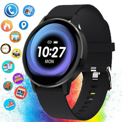 Smart watch Lady Men Fitness Trackers Pedometer Sport Band For HUAWEI XIAOMI UK