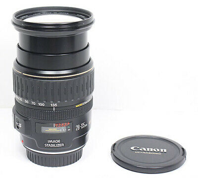 CANON EF 28-135mm IS USM Macro lens for EOS SL3 6D 7D 5D II III T7i T6i 90D etc