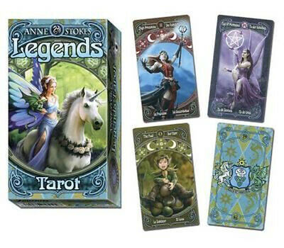 NEW Anne Stokes Legends Tarot By Anne Stokes Card or Card Deck Free Shipping