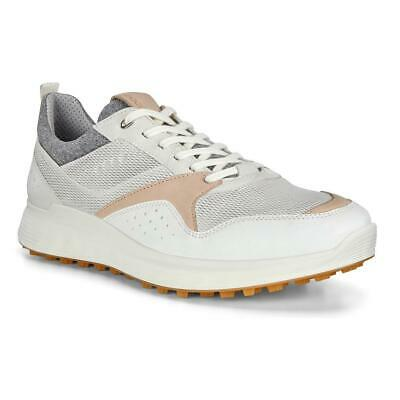 Ecco Mens Strike Gore Tex Yak Leather Spiked Golf Shoes 2 Years 100 Waterproof 129 99 Picclick Uk