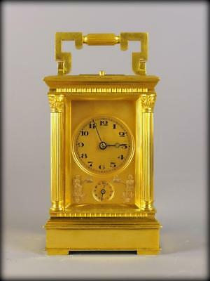 Automaton Petite Sonnierre Repeating Carriage Clock