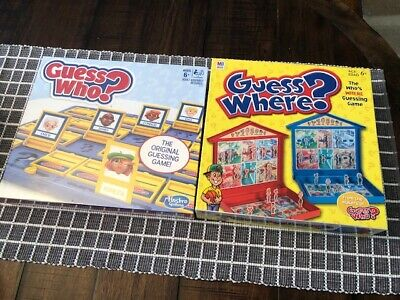 Guess Who? Game by Hasbro 2017 Edition, BRAND NEW