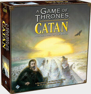 Catan: A Game of Thrones - Brotherhood of the Watch board game CSICN3015