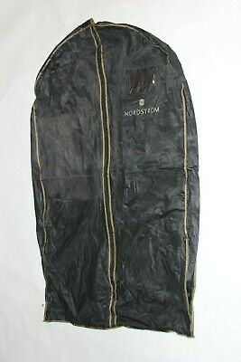 Nordstrom Black and Gold Garment Bag Water Resistant Good Condition