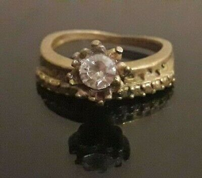 Ancient Roman Antique Ring Bronze Wedding Unique Fabulous Stone Rare Artifact