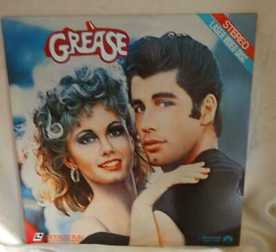 "Laserdisc Extended Play ""Grease"" John Travolta and Olivia Newton-John"