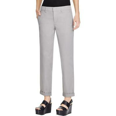 Vince Womens Twill Cuffed Stretch Ankle Pants BHFO 6773