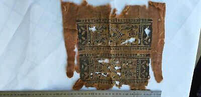 An Egyptian Early Christianity Roman-Coptic Textile Fragment