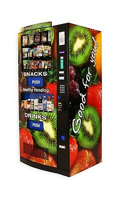 Very Nice Hy900 / Rs900 Seaga Combo Healthy Vending Machines