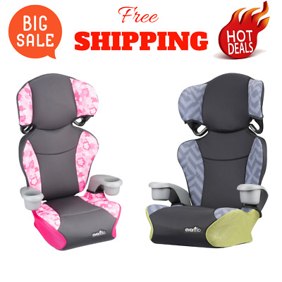 Child Car Seat Girls Safety Vehicle Big Kid Booster Chair High Back Toddler New