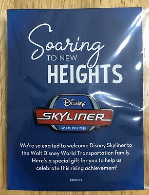 NEW! RARE Disney Cast Member Exclusive Skyliner 2019 Limited Edition Pin! Sealed