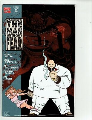DAREDEVIL THE MAN WITHOUT FEAR #4 Marvel Comic 1994 FN Frank Miller