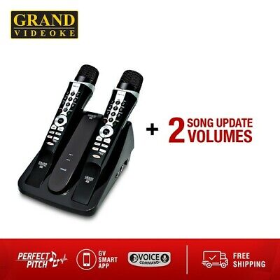 GRAND VIDEOKE Symphony SE Pro Plus+2 GV Song Update Volumes! FREE 3DAY Shipping