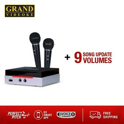 Grand Videoke Rhapsody 3 Pro Plus +9GV Song Update Volumes! FREE 3DAY Shipping