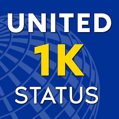 United 1K Status | Star Alliance Gold | 3 Month Trial - Extend to 2021