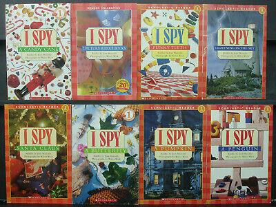 9 I Spy Reader Book Lot~Learn to Read~Readers~Reading~Level 1