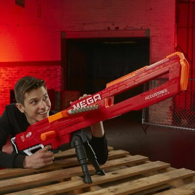 Nerfs N-Strike Mega Accustrike Series Thunderhawk Blaster Kids Toy Outdoor Play