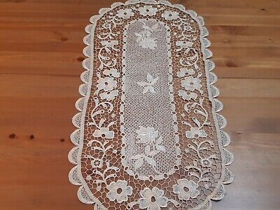 Clearance-H/Crafted 40*90cm Knitted Bronze Table Runner-One Only