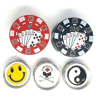 Magnetic Grinder Plastic Herb Shark Teeth Tobacco Storage Mini Grinders Smoking