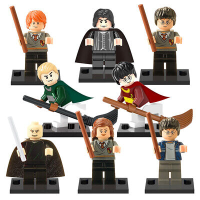 Lot 8 Figurines Harry Potter Figures Blocks Compatible Lego