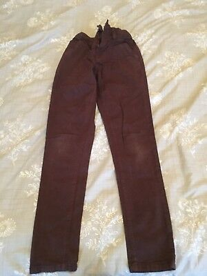 Boys Next Burgundy Jeans Age 11