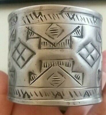 Ancient Viking Silver  Bracelet Cuff Musuem Quality Artifact Very Amazing
