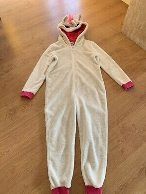 Blue Zoo Girls Unicorn One Piece/ Jumpsuit 12-13 Years - Great Condition