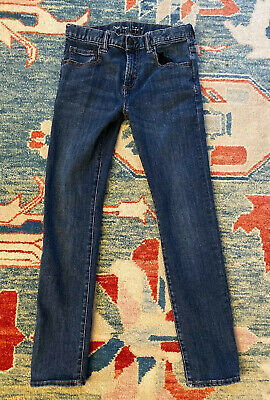 Gap kids boys Skinny Stretch jeans pants, size 14