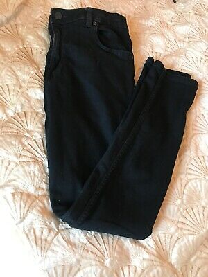 Girls River Island Black Stretch Jeans Age 12 Immaculate