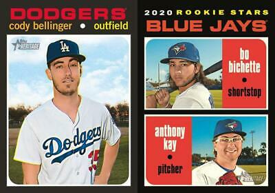 2020 Topps Heritage Base Team Set Baseball Cards U You Pick From List